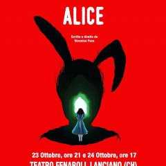 Alice - 23 e 24 ottobre 2021