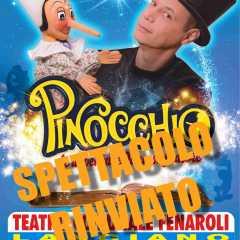 "Il Teatro Umbro dei Burattini presenta ""Pinocchio"""